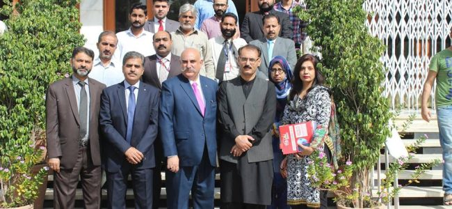 TRAINING OF TRAINERS (TOTS) ON TOBACCO CONTROL AT STATE BANK OF PAKISTAN