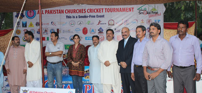 """""""Closing Ceremony"""" All Pakistan Christian Youth Cricket Tournament in Islamabad"""