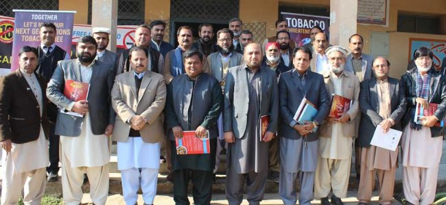 smoke free generation training with heads of the education