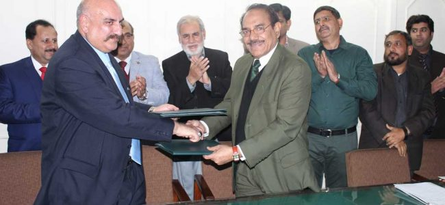 FEDERAL URDU UNIVERSITY ISLAMABAD AND TOBACCO SMOKE FREE ISLAMABAD PROJECT SIGNED LETTER OF INTENT (LOI) ON TOBACCO CONTROL