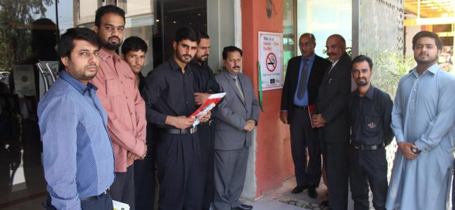 Bar B Q Tonight inaugurated as Tobacco – Smoke Free Facility