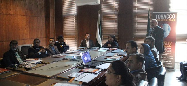 District Implementation and Monitoring Committee Meeting on Tobacco Control for ICT